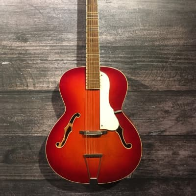 Cremona Luby Hollowbody Acoustic Guitar Circa 1960's Player Grade for sale