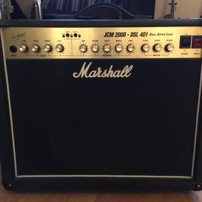"Marshall JCM 2000 DSL - 401 Dual Super Lead - 2-Channel 40-Watt 1x12"" Guitar Combo"