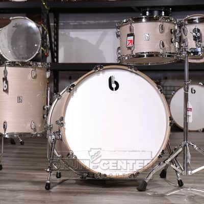 British Drum Company Legend Fusion 4pc Drum Set Whitechapel