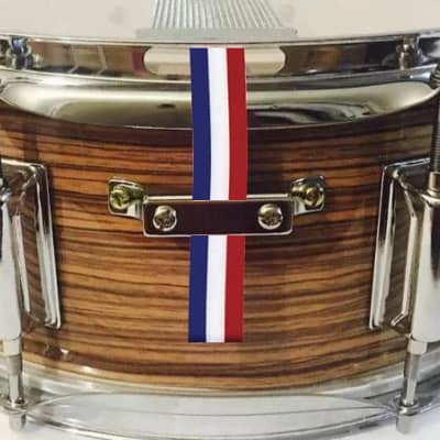 SnareFlair Drum Percussion Straps Red White Blue Patriot Flag USA Made Snare Flair