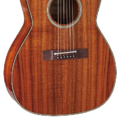 Takamine EF407 Legacy Series New Yorker Parlor Acoustic/Electric Guitar Natural Gloss