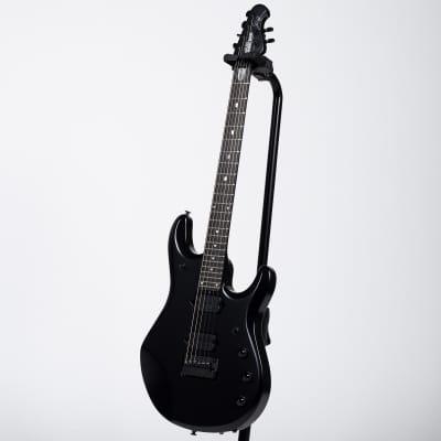 Ernie Ball Music Man JP6 John Petrucci Electric Guitar - Stealth Black for sale