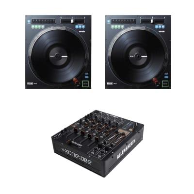 "(2) Rane TWELVE Motorized 12"" High-Torque DJ Controller Turntable + Allen & Heath Xone:DB2 Professional DJ FX Mixer"