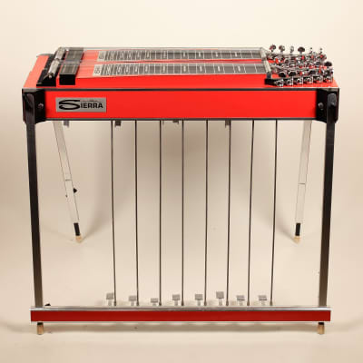 1976 Sierra D12 Olympic Pedal Steel w/ Custom Hard Case Excellent Condition Rare Steel!