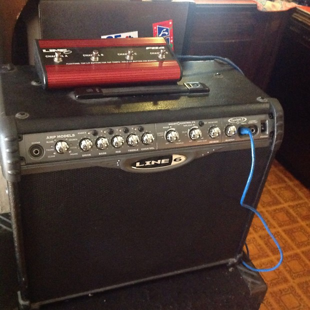 Line 6 Spider II 75 watt + control pedal | Mambo's Music