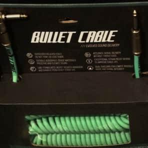 """Bullet Cable BC-30CCSEA Premium Vintage 1/4"""" TS Coil Instrument Cable - 30'"""