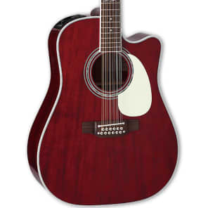 Takamine John Jorgenson Signature 12-String Acoustic-Electric Guitar with Hard Case for sale
