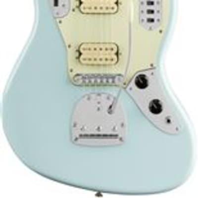 Fender Vintera 60s Jaguar Mod HH Guitar Pau Ferro Sonic Blue with Bag for sale