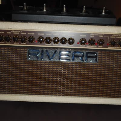 Rivera M 60  Head  Anniversary edition only made 1 year Rare Blonde w/footswitch