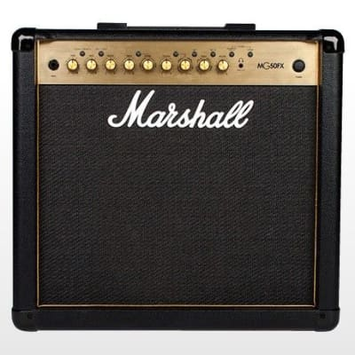 Marshall MG50GFX 50 Watt Combo Amplifier with 4 programmable channels