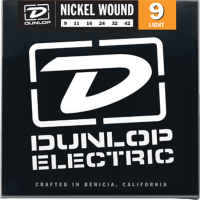 Dunlop DEN0942 Nickel Plated Steel Light Electric Strings 09-42