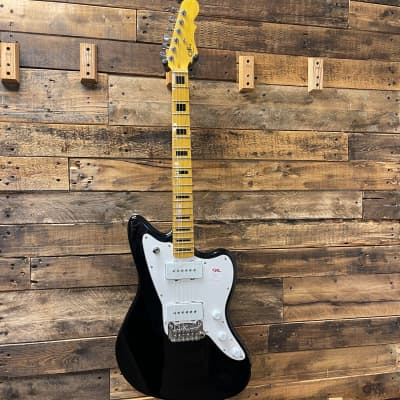 G&L Tribute Series Doheny with Maple Fretboard Jet Black