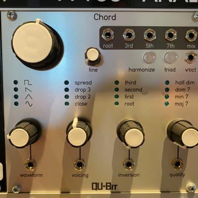 Qu-Bit Electronix Chord Silver Faceplate