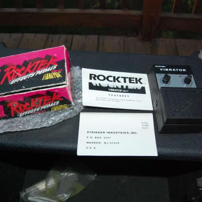 Vintage Rocktek VIB-01 Vibrator Tremolo Pedal with Original Box! VIB01 for sale