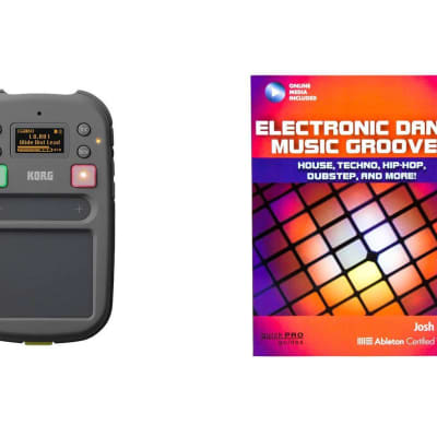 Korg Kaossilator 2S Bundle with Electronic Dance Grooves