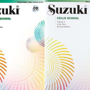 Suzuki Cello School Cello Part, Volume 1 - 6 (Revised) | Reverb