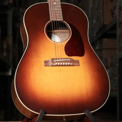 Gibson J-45 Studio Walnut Acoustic-Electric Guitar in Walnut Burst with Case