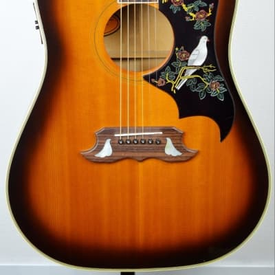 Orville by GIBSON Dove 1992 Sunburst Electro-acoustic Japon Import for sale