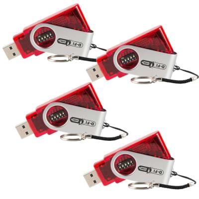 Chauvet D-FI USB Wireless DMX Transceiver 4 Pack