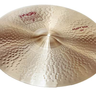 """Paiste 22"""" 2002 Heavy Ride Cymbal Traditional"""
