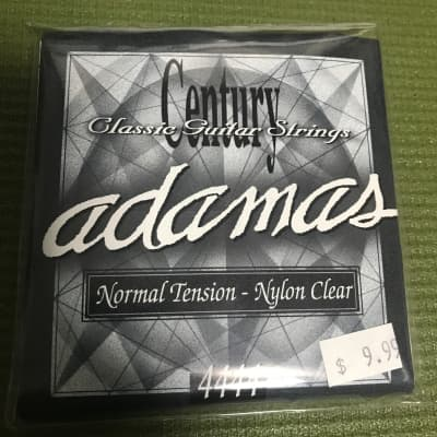 Adamas 4444 Classical Guitar Strings Set Normal Tension Nylon Clear for sale