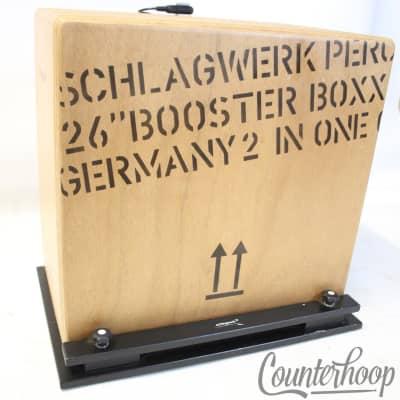 *Schlagwerk BC460 2 in One Booster Boxx Bass Cajon Drum+BP40 Base Plate+Kickzone