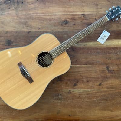 St. Matthew D-3E Dreadnought Solid Spruce Acoustic Guitar w/ Gig Bag for sale