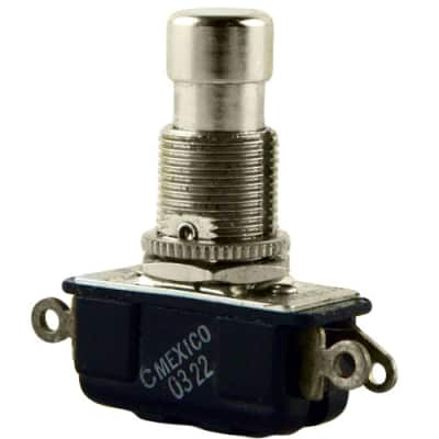Carling SPDT Footswitch, Side Solder Lugs