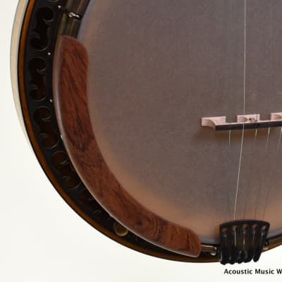 OME North Star Custom, Bluegrass Banjo, Zinc Flange, Fine Curly Maple