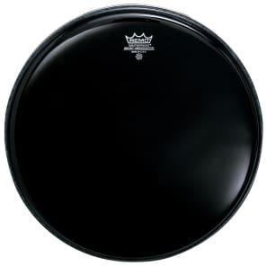 "Remo Ambassador Ebony Drum Head 15"""