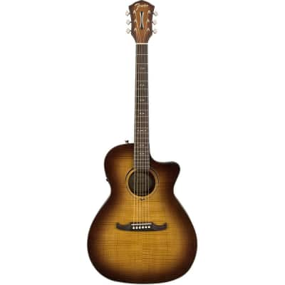 Fender FA-345CE Auditorium Acoustic Electric 3-Tone Tea Burst for sale
