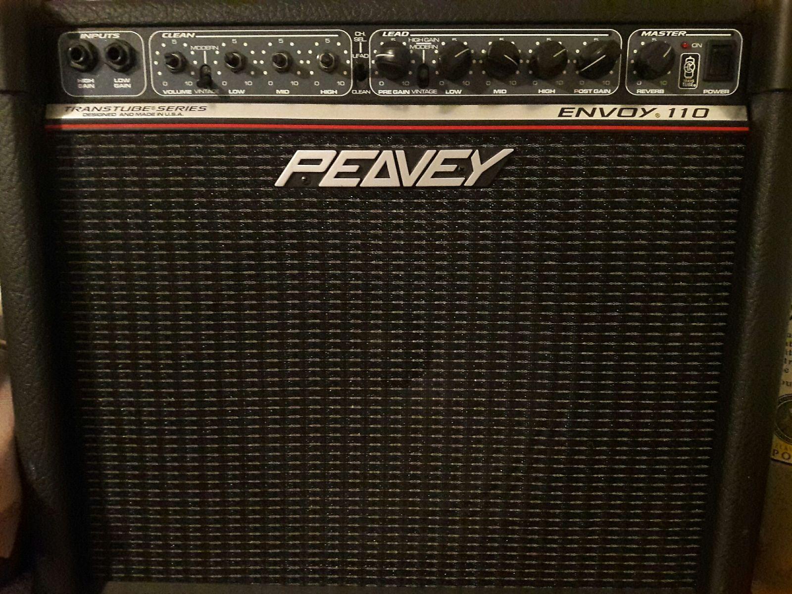 peavey envoy 110 transtube series 40 watt 1x10 guitar combo reverb. Black Bedroom Furniture Sets. Home Design Ideas