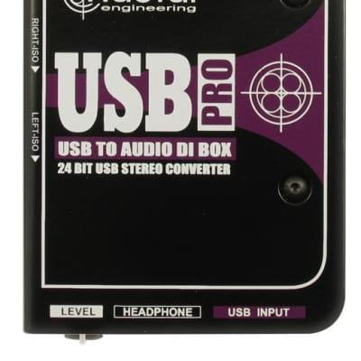 Radial Engineering USB-Pro Stereo USB Laptop DI Box