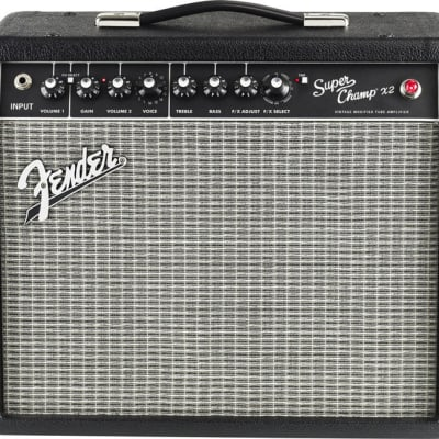 Fender Super Champ  X2 Vintage Modified Tube Guitar Amplifier for sale