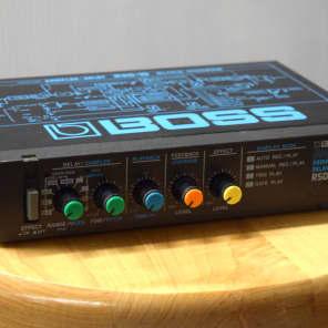 Boss RSD-10 Micro Rack Series Digital Sampler / Delay