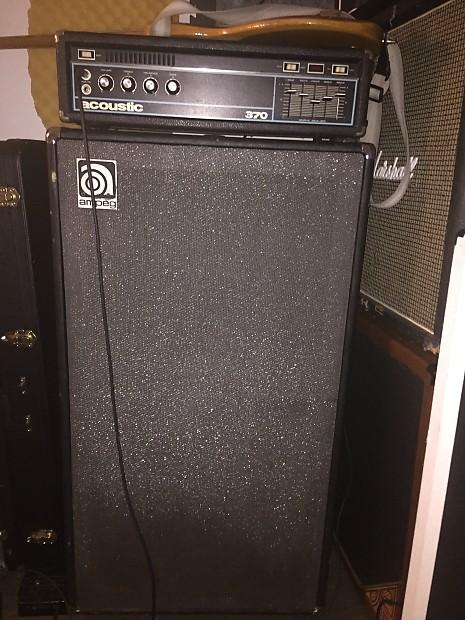 Ampeg V4-b Cabinet mid 70's Black/grey | Reverb