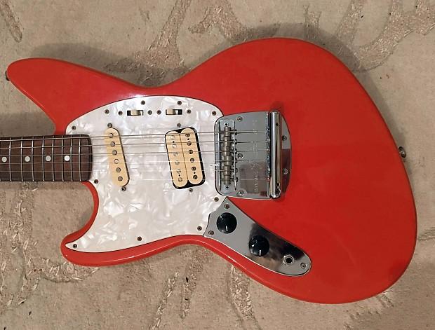 Fender Jag Stang Left Handed Lh Lefty Fiesta Red Reverb