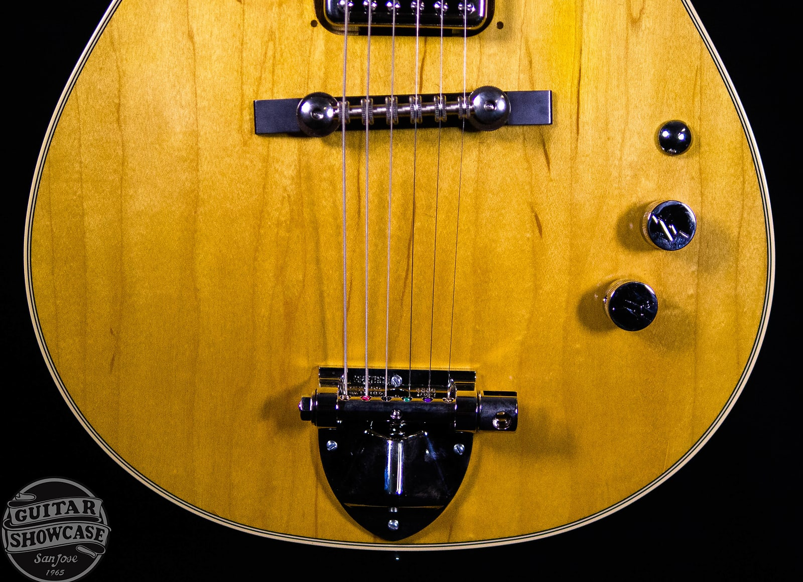 Gretsch G6131-MY Malcolm Young Signature Jet Aged Natural Semi-Gloss 2018