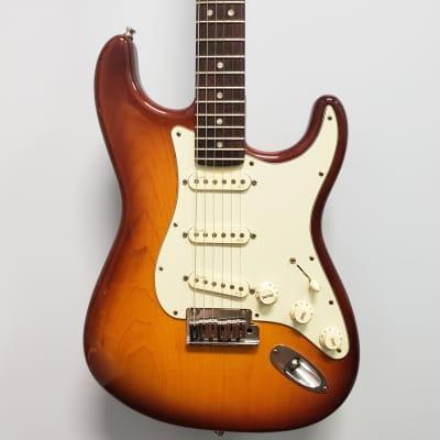 Fender American Deluxe Stratocaster 2015 Sienna Burst w/ OHSC for sale