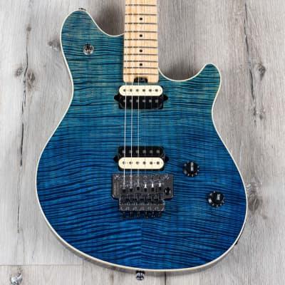 Peavey HP 2 Deep Ocean Electric Guitar, Maple Neck and Fretboard, Floyd Rose