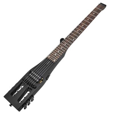 Anygig Travel Guitar Electric AGE SE Black for sale