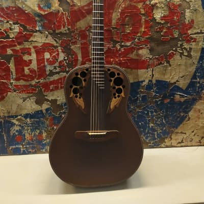 ovation adamas 2   1681-9 vintage 1981 brown for sale