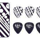 Eddie Van Halen Guitar Picks EVH Circles Max Grip Pick Tin Collectible image