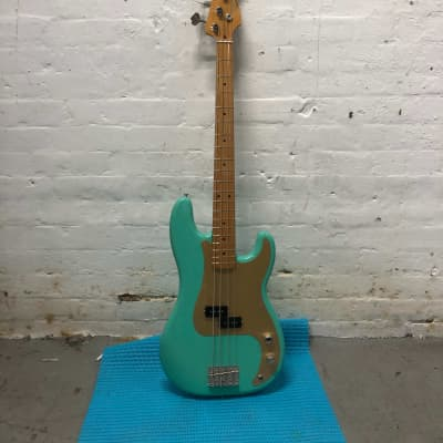 Fender Fender Vintera '50s Precision Bass in Sea Foam Green 2020 Sea Foam Green for sale