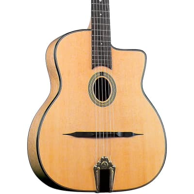 Gitane DG-250M Professional Gypsy Jazz Guitar Regular High Gloss Natural for sale
