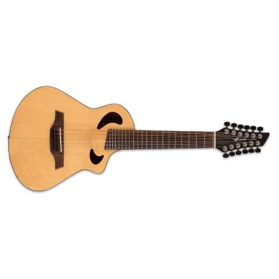 Avante by Veillette Gryphon Natural Acoustic-Electric Short Scale 12-String Guitar with Soft Case for sale