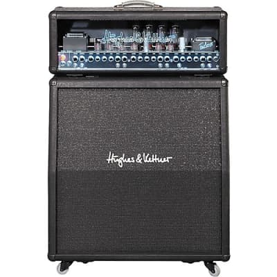 "Hughes & Kettner TriAmp MK II 6-Channel 100-Watt 4x12"" Guitar Amp Half Stack"