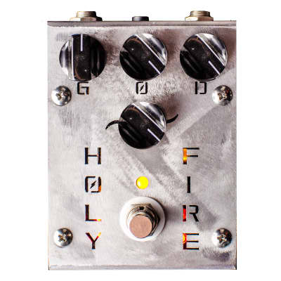 SALE - Creation Audio Labs - Holy Fire Overdrive/Distortion/Boost Effect Pedal (classic - 48V)