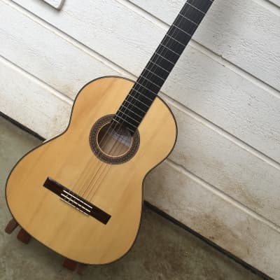 HIPPNER 2013 BARBERO FLAMENCO CLASSICAL GUITAR WITH PEGS for sale