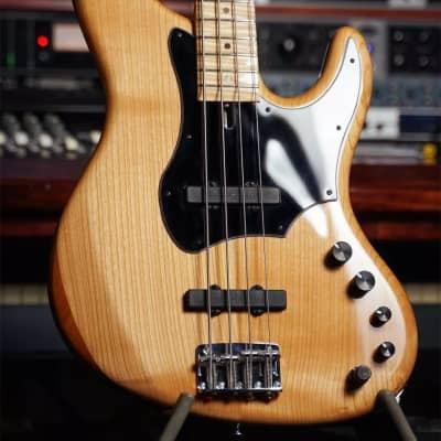Blasius Oldstone Jazz Bass Cherry Roasted Poplar Flame Maple Board Natural Zolkow Woodhead Amazing! for sale
